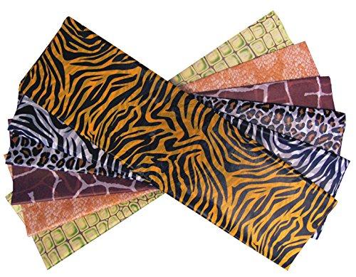CI Safari Print Seidenpapier, Mehrfarbig, 51x 12x 1cm, Blech, von 24