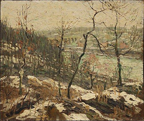 Das Museum Outlet-Landschaft in der Nähe der Harlem River, 1913-Poster Print Online kaufen (101,6x 127cm)