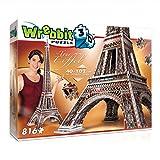 Wrebbit 3D W3D-2009 - Eiffelturm - 3D-Puzzle