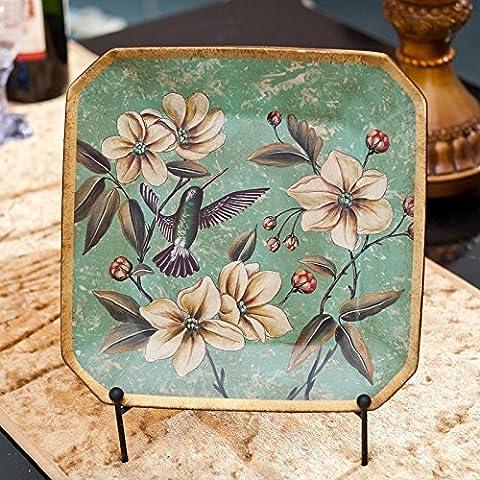 qwer Villaggio americano non ceramico vecchio dipinto prima di creative