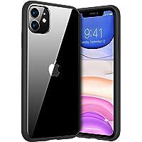 TORRAS Diamond Series Kompatibel mit iPhone 11 Hülle, Vergilbungsfrei Durchsichtig Handyhülle Hard PC Back und Soft…