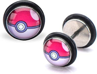 Pokemon Pokeball Fake Plug Set - Fake Plug