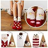 Coxeer Weihnachtssocken Damen Strümpfe Socken für Weihnachten Weihnachtsgeschenk Socken für