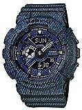 Casio Damen-Armbanduhr Baby-G Analog Digital Quarz Resin BA-110DC-2A1ER