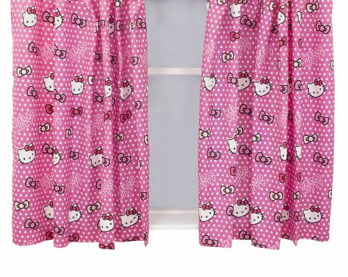 character-world-hello-kitty-candy-spots-curtains-54-inches