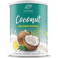 Nature's Finest Bevanda di Riso e Cocco in Polvere Bio 250 g | 2,5 litri di Deliziosa Bevanda Vegetale Biologica…