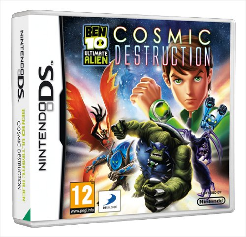 [UK-Import]Ben 10 Ultimate Alien Cosmic Destruction DS