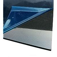 AFuex Carbon Fiber Sheets 100/% 3K Carbon Fiber Plate Twill Weave Matte Finish,200x300mm,0.2mm
