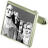 Select Gifts Il monte Rushmore inciso ricordo nella casella di messaggio