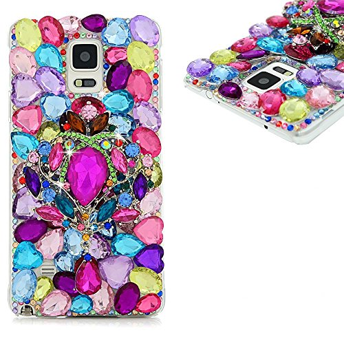 spritech (TM) Bling Phone, 3D Handmade Colorful Kristall Design klar Hard Handy Fall, PT-1, Samsung Galaxy S5 Mini