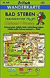 Bad Steben: Ferienregion Selbitztal (Schauenstein, Selbitz, Naila, Lichtenberg, Issigau, Köditz/Joditz) Ferienregion Döbraberg (Schwarzenbach a - Wald) (Fritsch Wanderkarten 1:35000) -