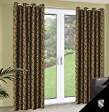 140x245 cm grün braun schoko schokolade Vorhang Vorhänge Blickdicht Fensterdekoration Gardine Ösenschal green brown choco chocolate 70
