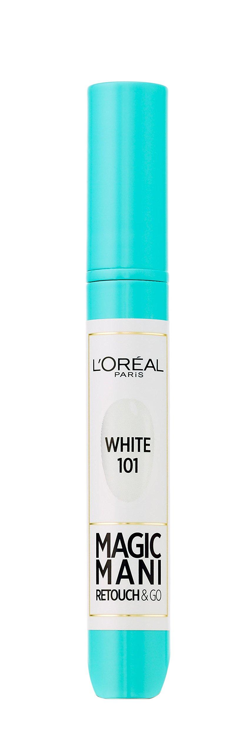 L'Oréal Paris Make-up designer Retocador de Uñas Instantáneo Magic Mani Blanco 101-1 Retocador de Uñas