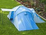 Skandika Daytona XXL blau, hellblau Familien-Zelt für 6 Personen, wasserdicht - 4
