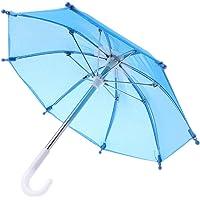 Mini parapluie coloré pour poupée américaine Blythe de 45,7 cm - Accessoires pour photographie de bébé