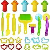 Multifunktion Baby Knetwerkzeug Kinder Werkzeug für Knete Spielsand modellieren