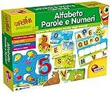 Lisciani Giochi 60184 - Gioco Carotina Maxi Alfabeto Parole e Numeri