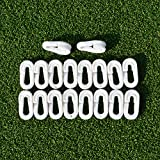 EuroMarkt 'O' Clips – Clips Rapides pour Filets de Football [Net World Sports] (Pack de 40)