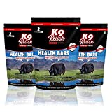 #6: Premium Yak Milk Chew Bones, Churpi Dog food treats, 210 gm - 8 to 9 long lasting Yak milk Bars, Small