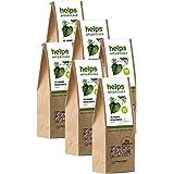 HELPS INFUSIONES - Té Verde A Granel 50% Natural. Infusión Diurética, Antioxidante, Quemagrasas Y Adelgazante. Bolsa A Granel