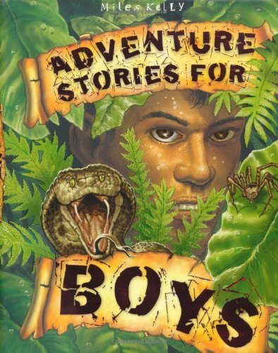 Adventure Stories for Boys (512-page fiction) by Miles Kelly (2012-07-01)