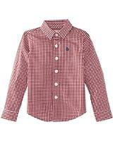 Original Penguin Long Sleeve Gingham 2 - 4 Boy's Shirt