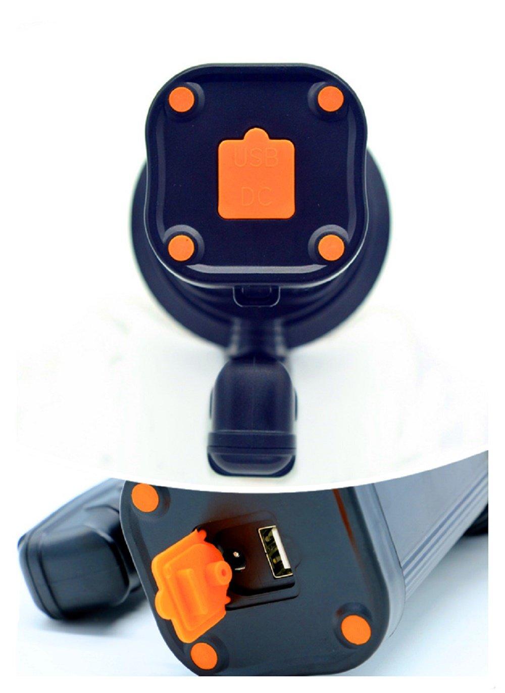 Ambertech Rechargeable 7000 Lumens Super Bright LED Searchlight Spotlight Flashlight Torch Lantern With Sharp Light 3