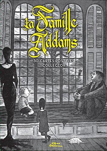La Famille ADDAMS, le coffret de cartes postales par Collectif