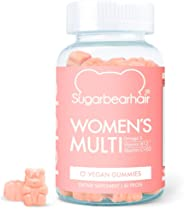 SugarBearHair, Sugar Bear Hair Women's Multi, Vegan Multivitamin, Omega
