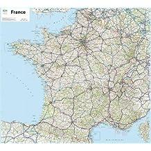 70035 FRANCE ROUTIERE 901 PLASTIFIEE 1/1M  100X110cm