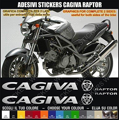 0405–Set Aufkleber für Cagiva Raptor, Farben personalisierbar -