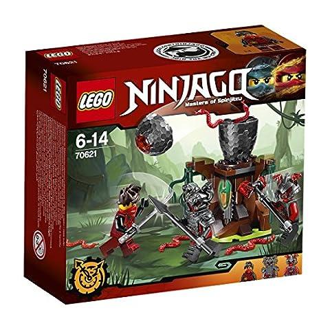 LEGO - 70621 - NINJAGO - Jeu de Construction - L'attaque des guerriers Vermillion