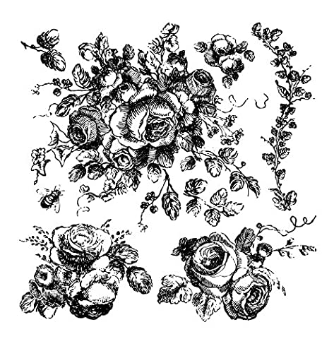 Iron Orchid Designs Decor Clear Stamps 12