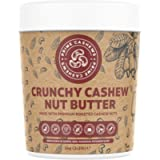 Natural Crunchy Cashew Nut Butter - 1kg - Dry Roasted - Zero Emulsifier, Oil, Salt or Sugar - Made from Premium Quality…