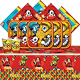 Lego Mixels Complete Party Supplies Kit For 8 Plates Cups Napkins Table Cover