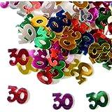 Compleanno Tavolo Coriandoli 30 anni multicolore (14 g)