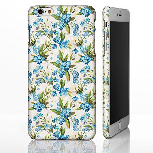 Étui avec motifs à fleurs de style vintage pour iPhone Designs par iCaseDesigner sur mesure pour la gamme iPhone., plastique, 10. Pink Roses on White Background, iPhone 5/5S 8. Small Blue Flowers on Light Beige Background