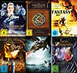 Fantasy Mega Collection - Die unendliche Geschichte - Das Original + Die neuen Abenteuer + Zauberer Merlin Drachen Feen & Elfen 18 Filme DVD Limited Edition