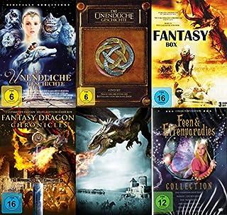 Fantasy Mega Collection - Die unendliche Geschichte - Das Original + Die neuen Abenteuer + Zauberer Merlin Drachen Feen & Elfen