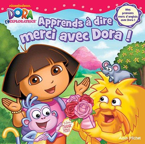 Apprends à dire merci avec Dora