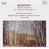 Prokofiev : Concertos pour piano n° 2 et n° 5