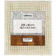 VALNEO Antirutschmatte (200 x 80 cm), zuschneidbar, rutschfest und für Fußbodenheizung geeignet I 2 Jahre Zufriedenheitsgarantie | Teppichstopper, Teppichunterleger, Antirutschmatte, Teppichunterlage