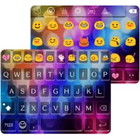 Multi Color Love Emoji Keyboard