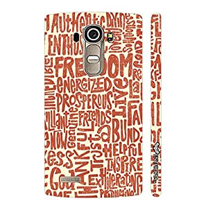 LG G4 ENERGY OF FREEDOM designer mobile hard shell case by Enthopia