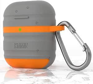 Airpods Hülle Kmmin Wasserdichte Airpods Schutzhülle Elektronik