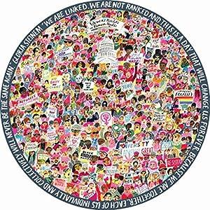 eeBoo-Puzzle 500Piezas Redondo-la Marca de Las Mujeres