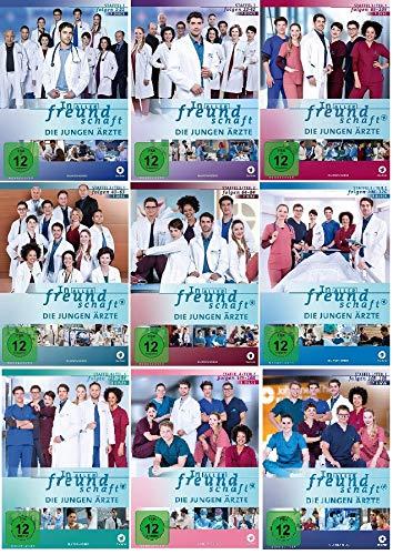 In aller Freundschaft - Die jungen Ärzte - Staffel 1.1 - 5.1 (Folgen 1-188) im Set - Deutsche Originalware [63 DVDs]