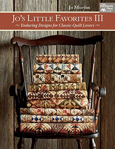 Jo's Little Favorites III: Enduring Designs for Classic-Quilt Lovers (Classic Red Kostüm)