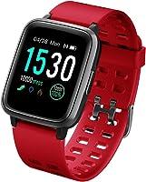 LATEC Pulsera Actividad Reloj Inteligente Impermeable IP68 Smartwatch Pantalla Táctil Completa con Pulsómetro Cronómetro...