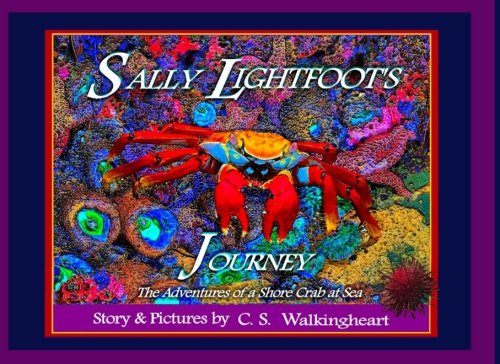 Sally Lightfoot's Journey: The Adventures of a Shore Crab at Sea (Sea Pictures) - Sally Lightfoot Crab